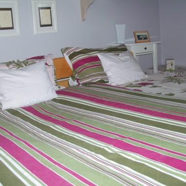 nawet w sypialni się co nieco zakwieciło:)))