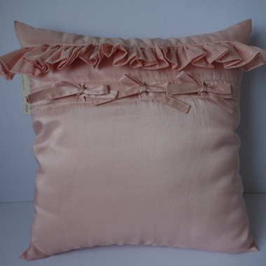Różowe poduszki dekoracyjne
