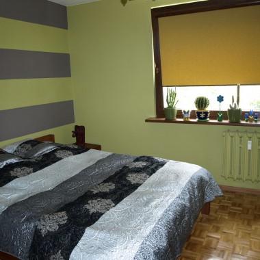 sypialnia 'zielono mi'