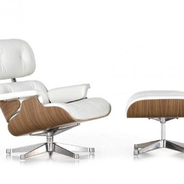 lounge Chair biała wersja