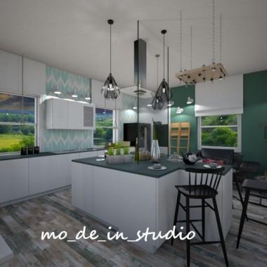 Dom na Wsi - Kuchnia i Jadalnia
