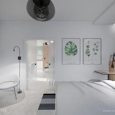 Projekt mieszkania autorstwa INVENTIVE studio inspirowany stylemindustrialnym o powierzchni 45m2 na warszawskim Żoliborzu.Mieszkanie znajduje się w starej kamienicy. Głównym założeniemprojektowym było zachowanie klimatu miejsca i stworzenie klimatycznej,jasnej przestrzeni. W projekcie zachowujemy stary, dębowy parkiet ułożonyw jodełkę, zostanie on wycyklinowany oraz wybielony.Charakteru całemu wnętrzu nadają dwa kontrastowe elementy: ciepłe,drewniane okładziny ścienne zastosowane w kontraście do surowych,metalowych i czarnych mebli oraz lamp. Dodatkowo całość spaja biała,ceglana ściana. Duże, przesuwane całoszklane drzwi do sypialni optyczniepowiększają przestrzeń w ciągu dnia łącząc obie strefy, a w razie potrzebystanową nieprzezierną barierę.