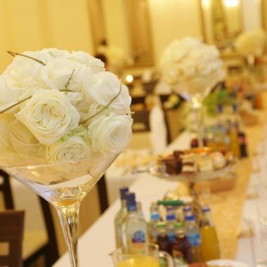 Dekoracje ślubne. Dekoracja sali weselnej