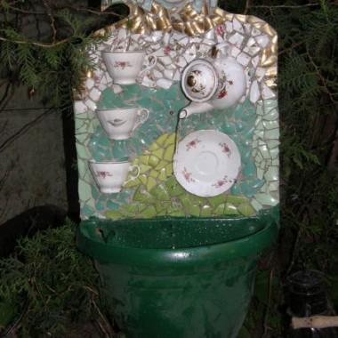 ogród-      Fontanna