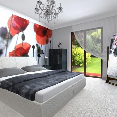 Projekt i aranżacja sypialni