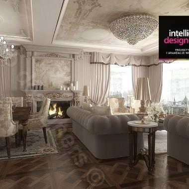 Apartament pałacowy w Krakowie - projekt i aranżacja