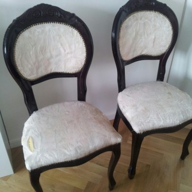 Ludwik 14 XIV razy dwa, czyli krzesła z potencjałem