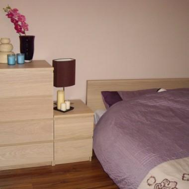 Sypialnia z miejscem do pracy :)