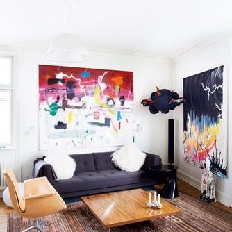 mieszkanie pelne sztuki