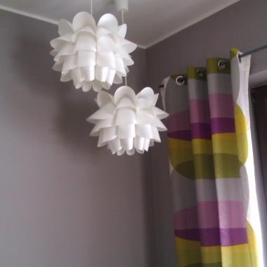 pokój gościnny - jedyne kolorowe miejsce w domu