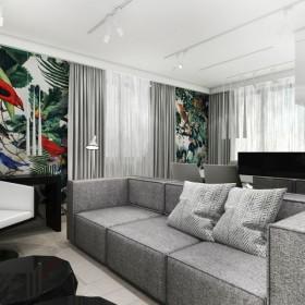 Wonderland - projekt wnętrza mieszkania