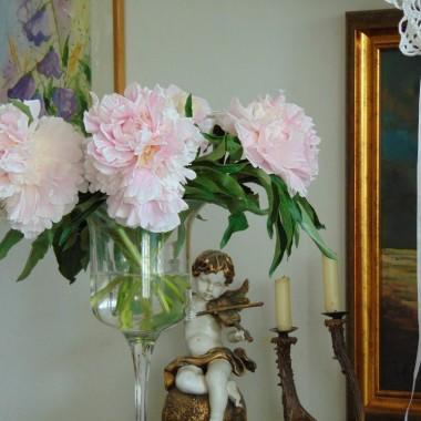 ............i okazałe kwiaty.............delikatne ..............bladoróżowe ...........piękne................