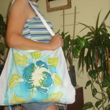 Eko torby ręcznie malowane