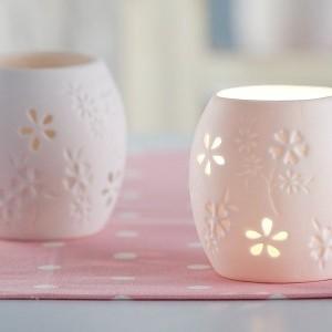 Świecznik lampion ceramiczny dekoracja domu