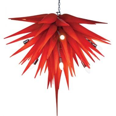 Lampa wisząca,szklana, wykonana ręcznie Mdina Glass