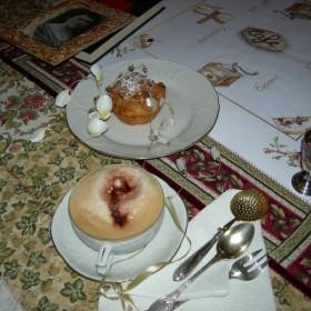 mufinka w towarzystwie pysznej kawki:) zapraszam!
