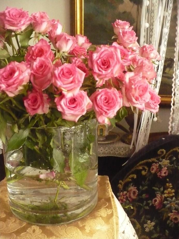 Pozostałe, Jeszcze październik............. - ................i róże ................delikatne.................różowe................radosne..................