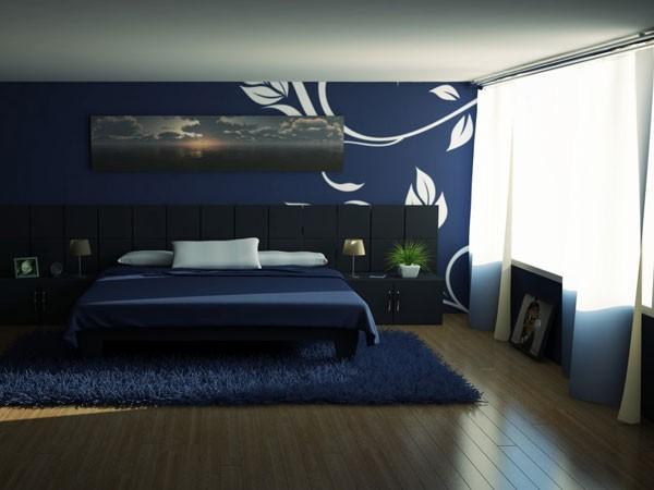 Niebieska Sypialnia Deccoriapl