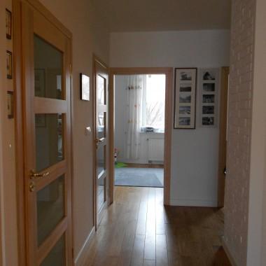Widok na wejście do pokoju starszego Synka - kiedyś była to nasza sypialnia.