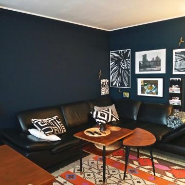 """Nasz nowy FR: obrazki, duża kanapa, stoliki, stół i telewizor, bez telewizji. Tylko """"kino"""" :-D"""