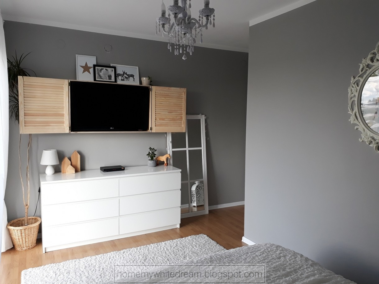 Jak ukryć telewizor w sypialni?