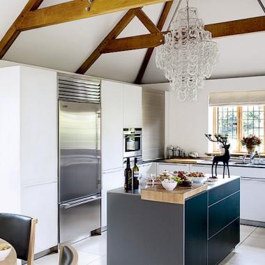 Biel w kuchni - jakie osłony ? Mała podpowiedź :)