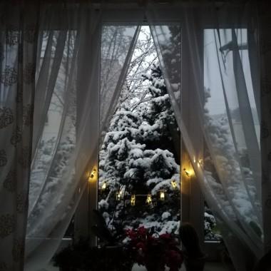 Zrobiło się zimowo, święta coraz bliżej...