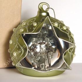 Ręcznie wykonane szklane bombki Mdina Glass