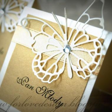 For Love Design - Zaproszenia ślubne :Butterfly: