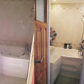 Bardzo bardzo mała łazienka bez umywalki