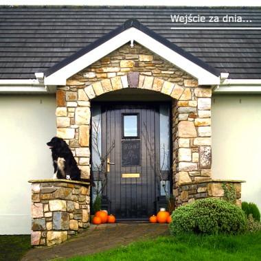 Halloween przed naszym domem
