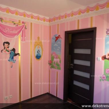 artystyczne malowanie ścian, malowidła ścienne, malunki na ścianie, pokój dziecięcy, pokój dla dziecka, pokój dla dziewczynki, pokój dla dziewczynki, dekoracja ścian, Wróżki, Disney