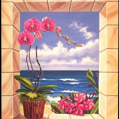 malarstwo ścienne i dekoracyjne-okna