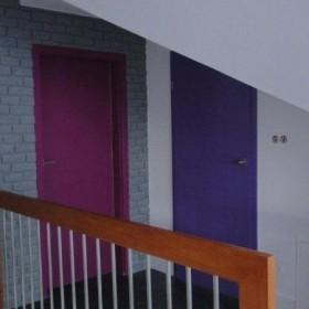 drzwi kolorowe