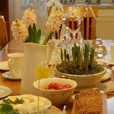 Królewska uczta trwa od rana:)Do stołu zasiadło czterech Króli  i Królowa .To ja:)Pozostali z rodziny królewskiej jeszcze w drodze...