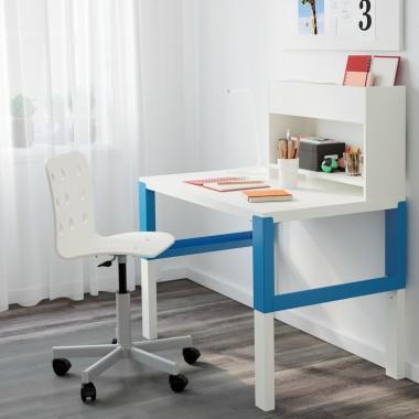 PÅHL - Biurko z dostawką, biały, niebieskiCena: 338 PLNhttp://www.ikea.com/pl/pl/catalog/products/S39128955/