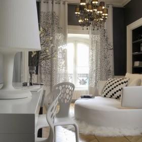 Lyoński apartament dekoratorki Claude Cartier