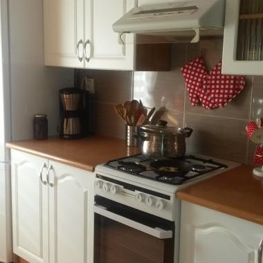 kuchnia na poddaszu po zmianach