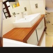 Łazienka - NATURA / Drewno w łazience - HOKO GROUP