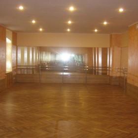 nordekor-sala baletowa warszawa wysockiego dom kultury