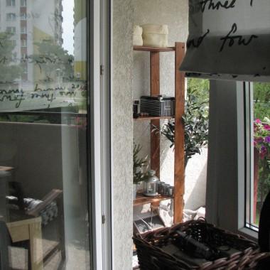 balkon na górze, poczatki...