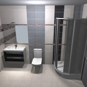 projekt łazienek