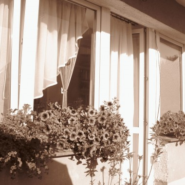 Czerwcowy balkonik :)