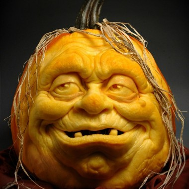 Straszne dynie na Halloween