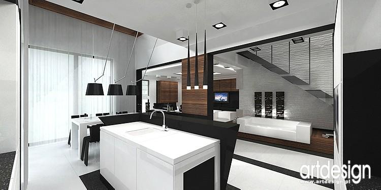 Pozostałe, projekt wnętrza domu - projekt wnętrza współczesnego domu