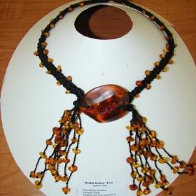 autorska biżuteria z bursztynu