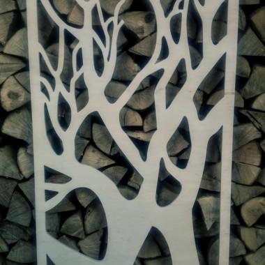 Panel ażurowy ze sklejki