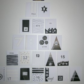 DIY kalendarz adwentowy