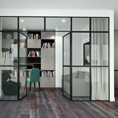 Okna i drzwi w stylu industrialnym/ loftowym