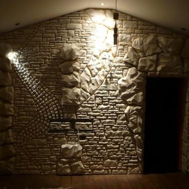 styropianowa ściana : )